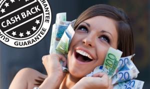 Cashback bij no bonus