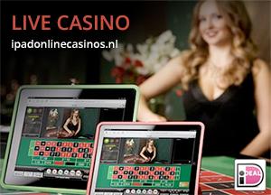 Live casino op iPad